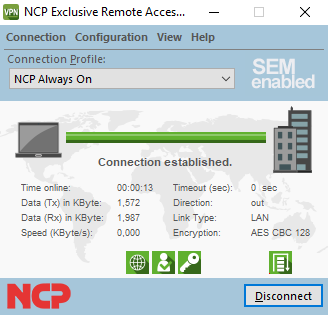 NCP Exclusive Remote Access Clients for the NCP Exclusive
