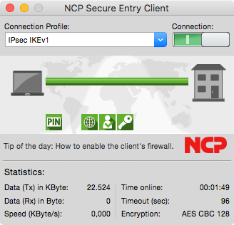 See more of NCP Secure Entry Client for macOS